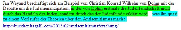 AS-Theorie ohne Semitismus