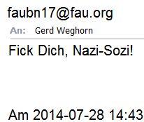 Fick Dich Nazi Sozi