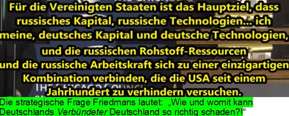 Friedman Russland Deutschland