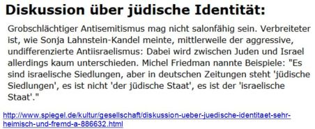 Identität jüdische Friedman