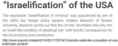 Israelification of the USA