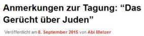 Melzer BpB Tagung Gerücht über die Juden