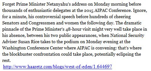 Netanjahu Obama Kongress Haaretz