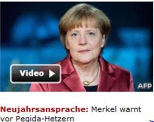Pegida Merkel