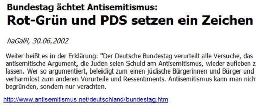 Schuld Bundestag Ächtung