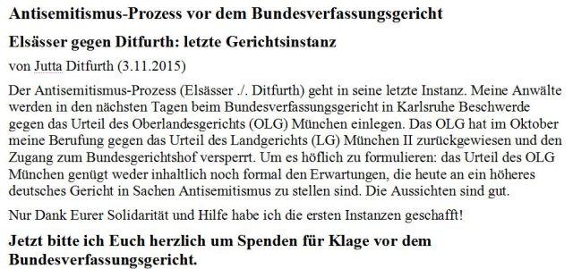 Ditfurth BVerfG