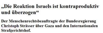 Gaza und Israel