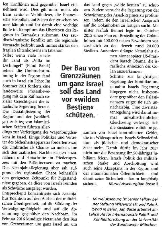 Israel Einstaatenlösung