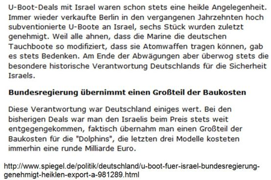 U-Boote Israel
