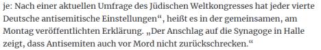 Deutsche jeder vierte antisemitisch