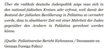 Eichmann über Polkes