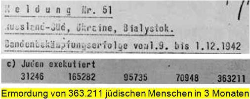 Ermordung von 363.000 Juden