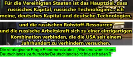 Friedman Strategie der USA2