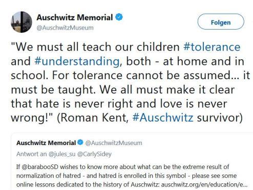 Hass und Auschwitz