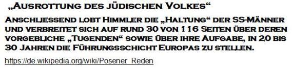 Himmler Posener Rede Sozialisation