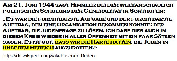Himmler Sonthofener Rede Sozialisation