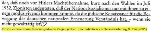 Hitler unterstützt Zionisten und umgekehrt