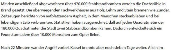 Holocaust Brandopfer Kassel
