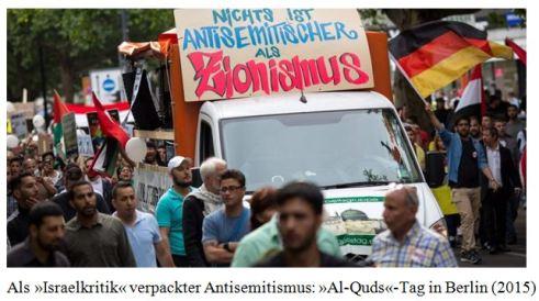 Israelkritik = Antizionismus