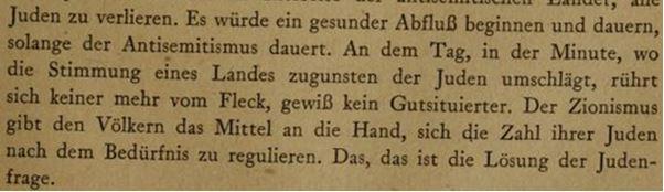 Judenfrage Herzl