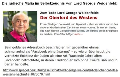 Mafia jüdische Weidenfeld