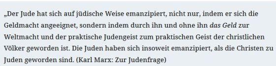 Marx Judenfrage