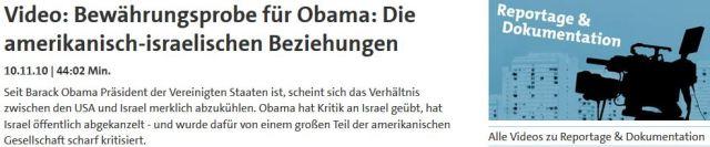 Obama Bewährungsprobe gecancelt