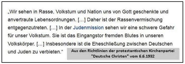 Rassismus deutsche Evangelische