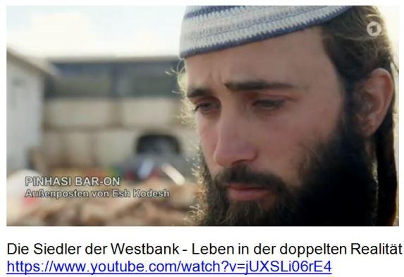 Rassist Siedler der Westbank 45.00