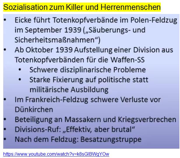 Sozialisation zum Killer und Herrenmenschen