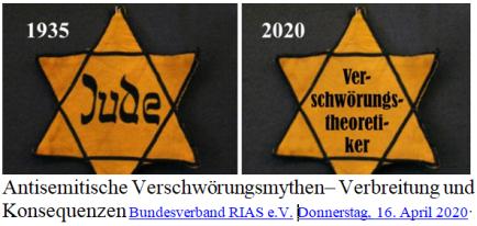 Verschwörungstheoretiker Judenstern