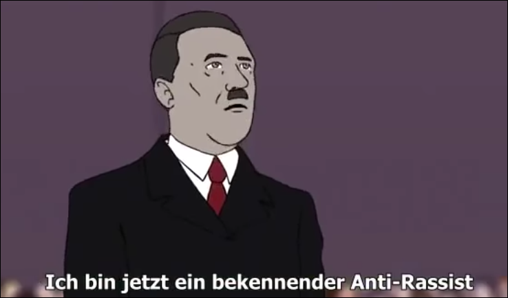 Hitler Anti-Rassist White Rabbit