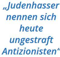 Judenhasser Antisemiten