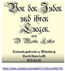 Luther von den Jüden