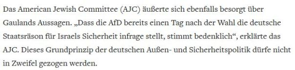 Staatsräson Deutschlands