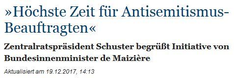 Antisemitismusbeauftragter
