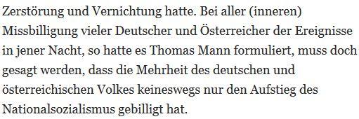 KSL Thomas Mann Volk billigt Endlösung
