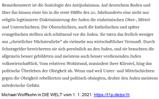 Wolffsohn Juden Neuzeit Fürsten Pogrome